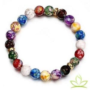 Bracelet 7 Chakras Constellations
